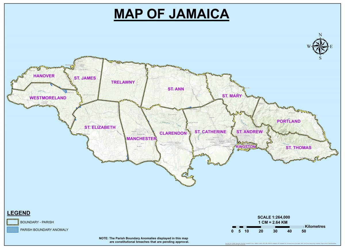 Parishes - Electoral Commission of Jamaica